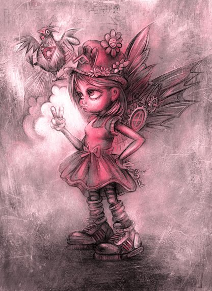 Cuckoo Ca Choo by artist Craig Everett