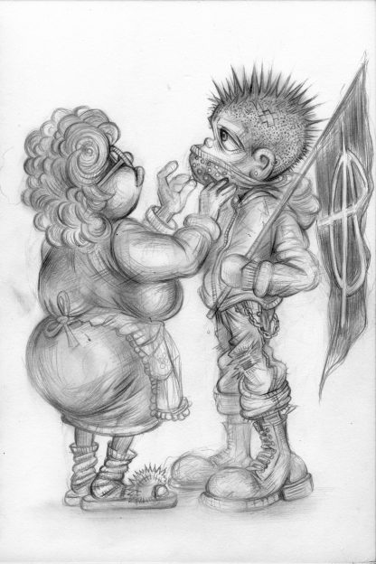 Craig-Everett-Mummys-Boy-Original-Sketch