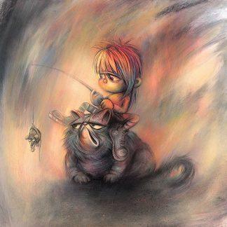 Craig-Everett-Rat-CATcher-Original-Painting