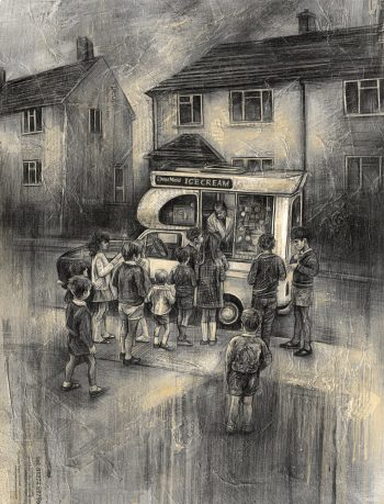 Craig-Everett-Ice-Cream-Van-Print