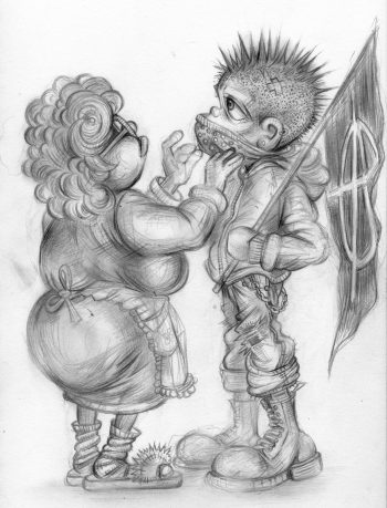 Craig-Everett-Mummys-Boy-Original-Sketch