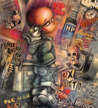 Pug-in-hood-Print-Artist-signed