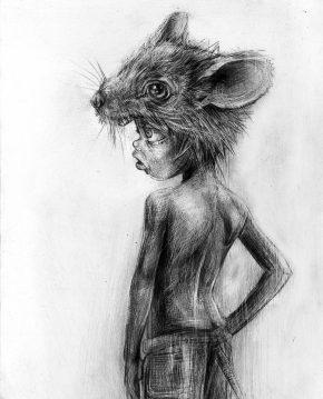 Craig-Everett-Mouse-Boy-Original-Sketch