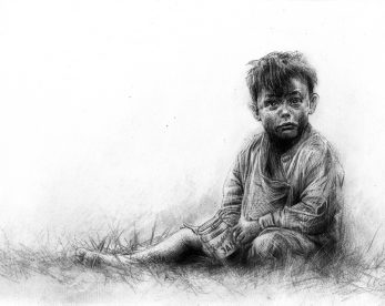 Craig-Everett-Raspberry-Picker-Original-Sketch